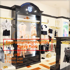 Cina clothing store display design/clothing display racks pabrik