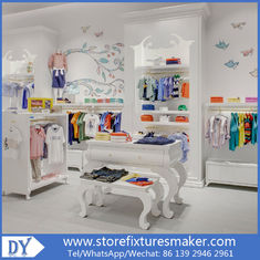 Cina Matte white lacquer kids clothing stores - Popular Best Kids Clothing Stores/fashion kids store pabrik