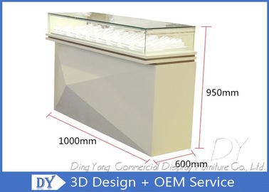 OEM Pre Assemble Toko Perhiasan Showcases / Display Showcase Counter