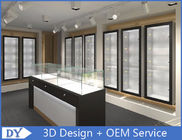 Cina Modern Attractitve Showroom Display Cases untuk Perhiasan Showroom Pra - Majelis pabrik